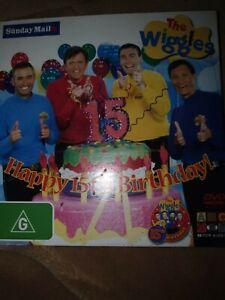 The Wiggles - Happy 15th Birthday! DVD 2006 R4 - G