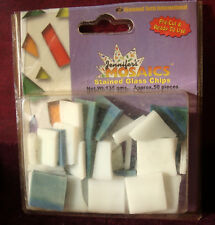 Jennifer's Mosaics Stained Glass Chips 135g Pkg Pre-Cut - Art Craft Project- New