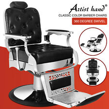 Heavy Duty Hydraulic Recline Barber Chair Salon Beauty All Purpose Equipment
