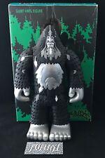 "Vtg Strangeco Bigfoot One 13"" Vinyl Figure Silver 2004 Kidrobot Fifty24Sf Rare"