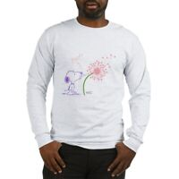 CafePress Snoopy Dandelion Long Sleeve T Shirt Long Sleeve T (1487985110)