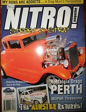 Nitro Mag #18 FX EK Holden LJ GTR Torana 31 Ford Coupe 66 Ford Mustang 57 Chev