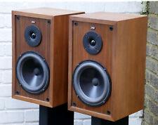 JPW AP1 2-Way Hi-Fi bookshelf standmount VINTAGE loud speakers Made in UK NR