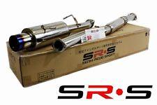 "SR*S SUBARU Impreza RS CATBACK EXHAUST SYSTEM 02-07 03 04 05 BURNED TIP T-304 3"""