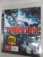 Wolfenstein PS3 Game