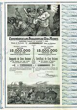 SPAIN COAL MINES OF UJO-MIERES stock certificate 1904