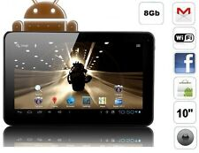 Tablette PC Tactile 10'' pouce Android WiFi Play HD 1080P 2 Camera 8G