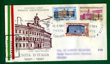 ITALIA -F D C  RODIA 1961 PRIMO CENTENARIO DELL'UNITA'D'ITALIA VIAGGIATA