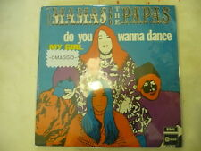 "MAMAS&PAPAS""DO YOU WANNA DANCE-disco 45 giri EMI Italy 1968"" VERY RARE"