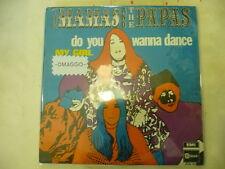 "MAMAS&PAPAS""DO YOU WANNA DANCE-disco 45 giri EMI Italy 1968"" VERY RARE"