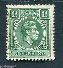 JAMAIQUE, 1938, timbre CLASSIQUE 123, GEORGE VI, oblitéré