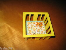 VINTAGE FISHER PRICE LITTLE PEOPLE YELLOW BABY PLAY PEN