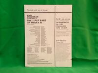 RSC  cast lists - Stratford 1964 Job lot / bundle