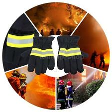 Fire Protective Gloves Fire Proof Heat Proof Waterproof Non-slip Gloves Q9Y1