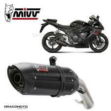 SUZUKI GSX-R 600 Exhaust MIVV Suono 2006-2007 Steel Black