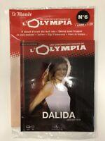 dalida concerts mythiques de l'olympia 1974 1 cd + 1 livre neuf sous blister