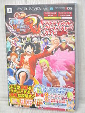 ONE PIECE Ultimate World Adventure Guide PS3 PSVita WiiU 3DS Book VJ72*