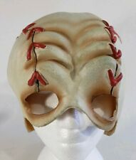 Halloween Baseball Zombie Head Half Face Paper Magic Group 2004 Latex Rubber