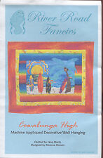 Cowabunga High ~ Surfboards Wall Quilt Pattern ~ by River Road Fancies 105