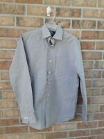 Men's Polo by Ralph Lauren Dress Shirt Size 15.5  34/35 Long Sleeve Button Down