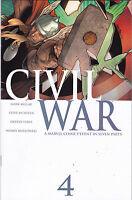 CIVIL WAR #4 VF/NM