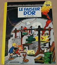 SPIROU ET FANTASIO -20- / Le faiseur d'or / Re 1974 /  BE+