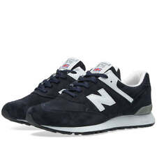 Men's New Balance 576 DNW UK Size 8 Navy Suede Trainers Made In England