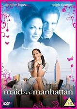 Maid in Manhattan DVD 2003 by Jennifer Lopez Ralph Fiennes Benny Medina Cha
