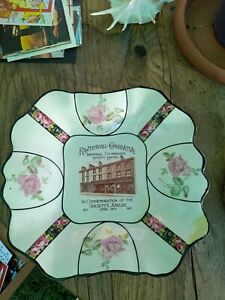 Rawtenstall Conservative Industrial Co-operative Society Commemoration Plate...