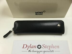 Montblanc Boheme black leather one pen pouch