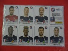 PANINI EURO UEFA 2016 Update FRANCE  ORIGINAL Extra-Stickers NEUF ET RARE !!!