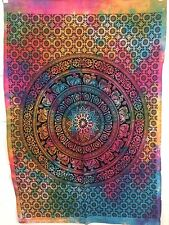 Indian Tapestry Wall Hanging Mandala Poster Taille éléphant Mandala Tapestries