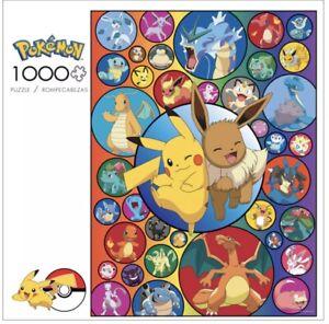 NEW Pokemon - Pikachu & Eevee Bubbles - 1000 Piece Buffalo Jigsaw Puzzle SEALED