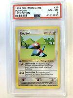 1999 1st Edition Base Set Pokemon Porygon #39 Shadowless PSA Grading