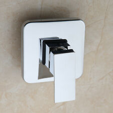 Bathroom Shower Control Valve Mixer Faucet Single Handle Chrome For Wall Mounted