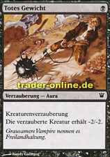 4x Totes Gewicht (Dead Weight) Innistrad Magic