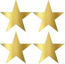 Gold Star Stickers metallic gold foil star labels 45mm STARS  Packet of 100!