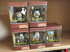 "DISNEY VINYLMATION 3"" MECHANICAL KINGDOM Goofy Pete Mickey Donald Daisy NEW BOX"