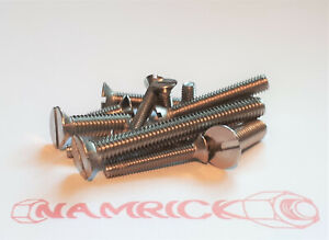 Metric Csk. M3,M4,M5,M6 Machine Screws Stainless Steel A2 Slotted Countersunk