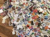 200+ GB QV -QE British Commemorative definitive Stamps off paper NEW STOCK MIX