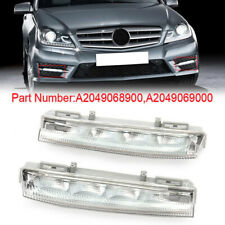 Pair Front Bumper DRL Fog Lights Left+Right Fit For Mercedes Benz W204 W212 R172