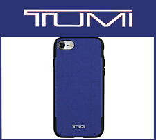 Tumi Coated Canvas Case Cover Blue for Apple iPhone 7 & iPhone 8 TUIPH-021-CCBLU