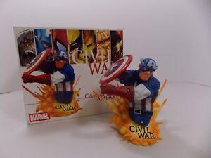 DIAMOND SELECT TOYS CIVIL WAR CAPTAIN AMERICA MINI BUST 0862/2000