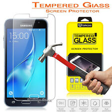 HD Premium Real Tempered Glass Film Screen Protector for Samsung Galaxy sky / J3