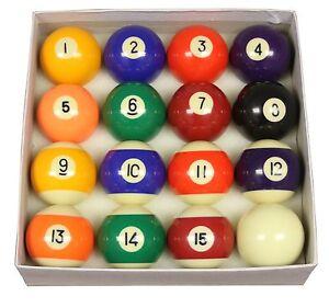 Strikeworth Competition Spots & Stripes Pool Ball Set