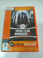 Total Club Manager 07 EA SPORTS - Set para PC Dvd-Rom Ausgabe Spanien - 3T