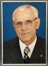 Willy Stoph Bild 42 x 60 cm 1970er Köpenick ZK der SED DDR Ostalgie