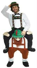 ADULT LEDERHOSEN PIGGYBACK INFLATABLE HALLOWEEN FUNNY COSTUME MHMCPBBM