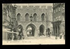 Hants Hampshire SOUTHAMPTON Bar Gate LL Louis Levy PPC used c1915