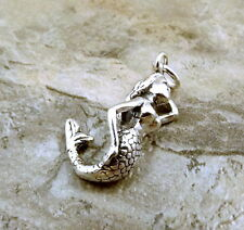 Sterling Silver Mermaid Charm - 1324